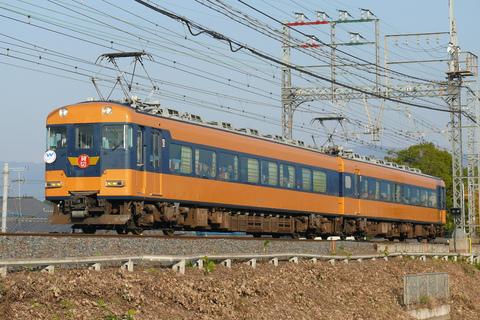 【近鉄】18400系『あおぞらⅡ』使用 団体臨時列車運転