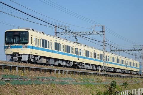 【小田急】8000形8061F 試運転