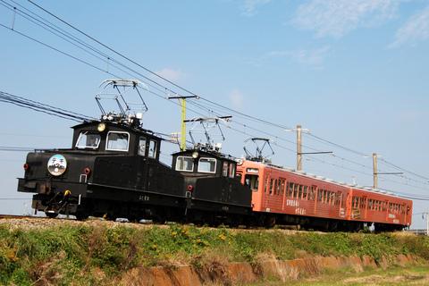 【上信】上信電鉄創立117周年記念列車 運転