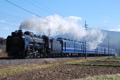 【JR東】D51-498+12系高崎車5両 試運転