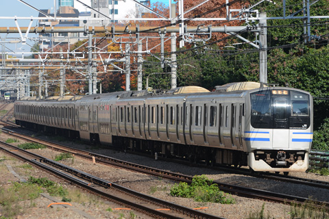 【JR東】品川駅線路工事による横須賀線行先変更