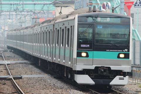 【JR東】E233系2000番代マト7編成 東京総合車両センター出場