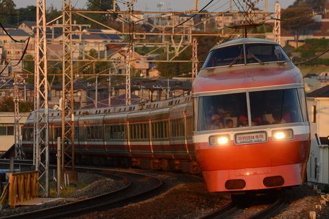 【小田急】7000形『LSE』使用 特別団体専用列車運転