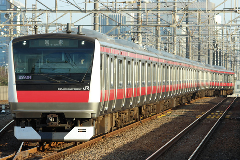 【JR東】E233系5000番代ケヨ512編成 東京総合車両センター出場