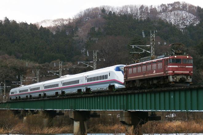 【JR東】E3系R25編成甲種輸送