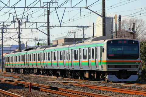 【JR東】E231系1000番代コツS19編成 東京総合車両センター入場