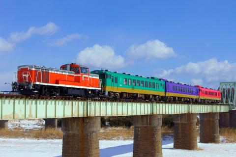 【JR東】キハ40・48形『ふるさと』使用の臨時列車運転