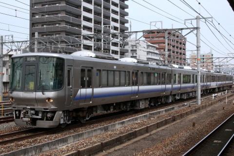 【JR西】223系ヒネE415編成 本線試運転