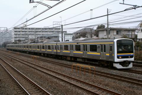 【JR東】209系2100番代マリC601編成 大宮総合車両センター出場