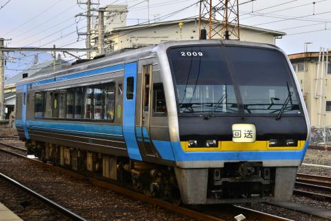 【JR四】2000系コチ2009号 多度津へ回送