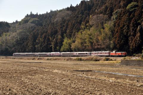 【JR東】485系『ゆう』 水郡線で試運転