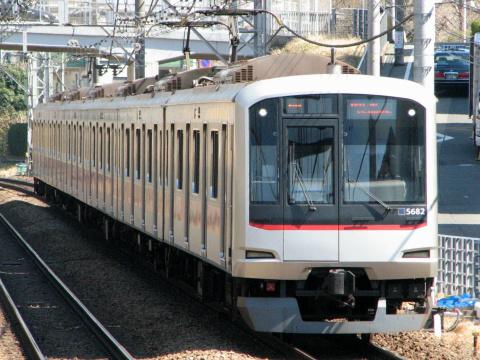 【東急】5080系5182F 長津田車両工場入場