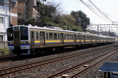 【JR東】211系3000番代幕張車 定期運用終了