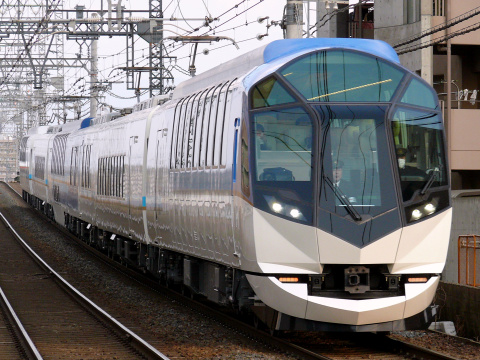 【近鉄】50000系「しまかぜ」試乗会実施