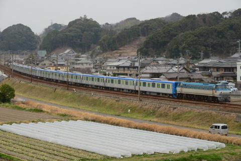 【東武】60000系61601F+61602F 甲種輸送