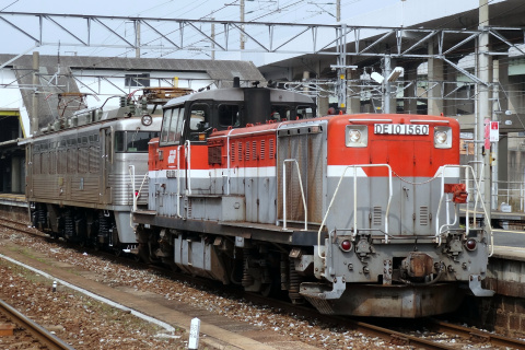 【JR貨】EF81-303 小倉車両所出場