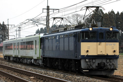 【JR東】キハ111-205・キハ112-205 郡山総合車両センター出場