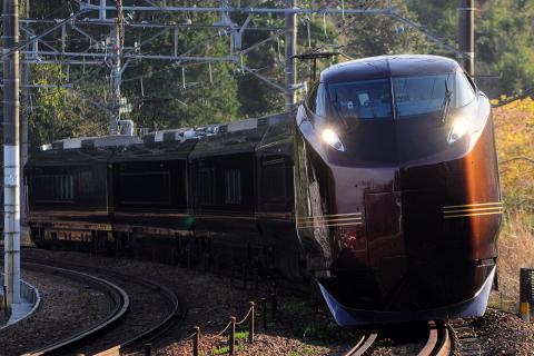 【JR東】E655系使用 お召列車運転(復路)