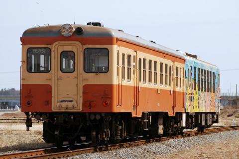 【ひたちなか】旧国鉄キハ使用 団体臨時列車運転