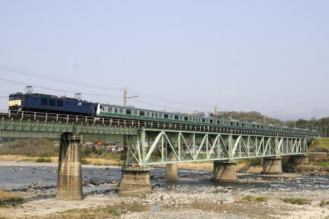 【JR東】E233系7000番代ハエ102編成 新津出場配給