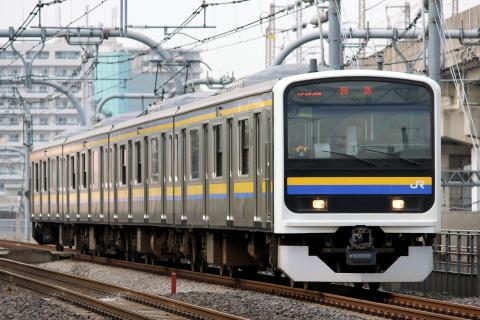【JR東】209系2100番代マリC408編成 大宮総合車両センター出場