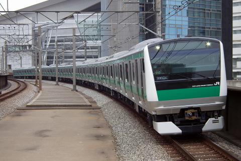 【JR東】E233系7000番代ハエ102編成 川越・埼京線内で試運転