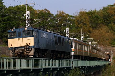 【JR東】211系タカB8+B3編成 長野総合車両センターへ