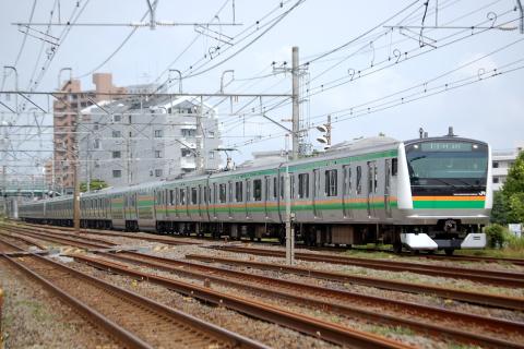【JR東】E233系3000番代元チタ車に小変化
