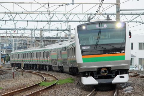 【JR東】E233系3000番代タカL10編成 国府津へ回送
