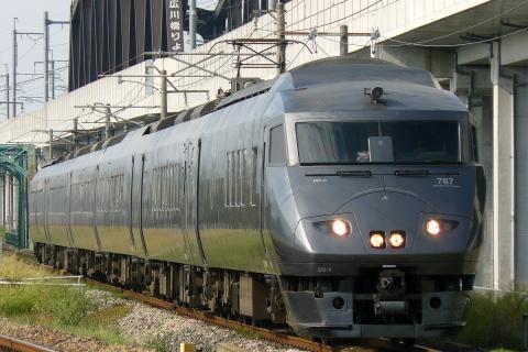 【JR九】787系ミフBM8編成使用 団体臨時列車運転