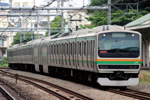 【JR東】E231系1000番代ヤマU591編成 東京総合車両センター入場