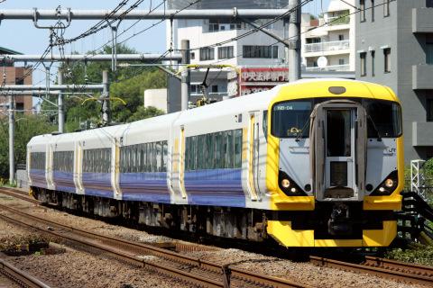 【JR東】E257系500番代マリNB-04編成 大宮総合車両センター出場