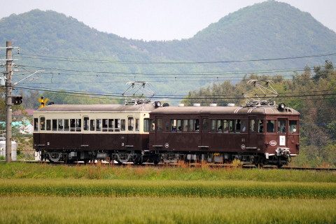 【ことでん】レトロ電車GW特別運行2013