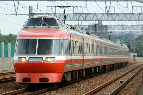 【小田急】7000形7004F(LSE) 特別団体専用列車運転