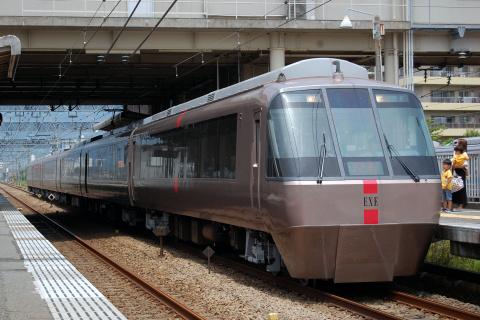 【小田急】特急「はこね15号」 開成駅臨時停車
