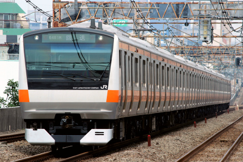【JR東】E233系トタT38編成 東京総合車両センター出場