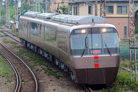 【小田急】30000形30057F(EXE) 試運転