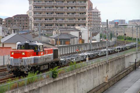 【JR貨】コキ107形 甲種輸送