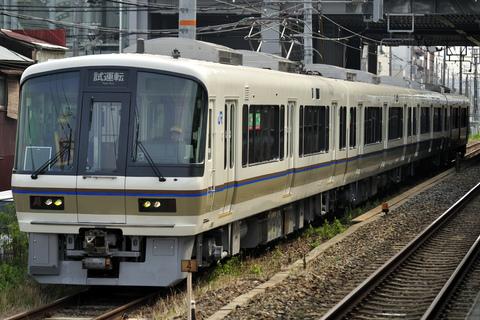 【JR西】221系NA415編成 吹田総合車両所内試運転