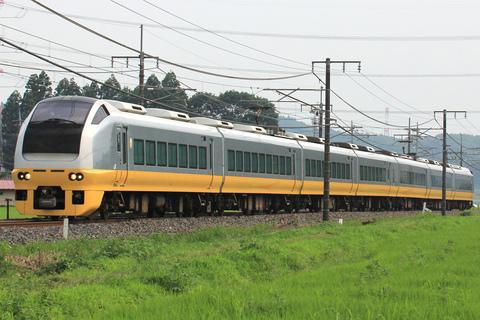 【JR東】E653系カツK303編成 郡山総合車両センター入場