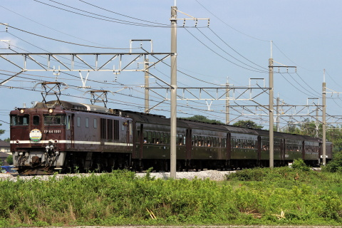 【JR東】「レトロ高崎線130周年記念号」運転
