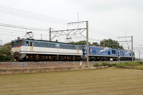 【JR東】EF510-506+EF510-511 回送