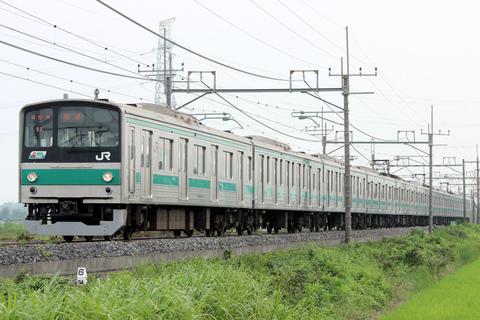 【JR東】205系ハエ21編成 小山へ疎開