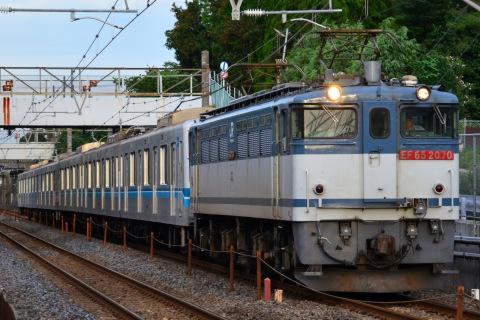 【メトロ】05系05-106編成+05-113編成 甲種輸送