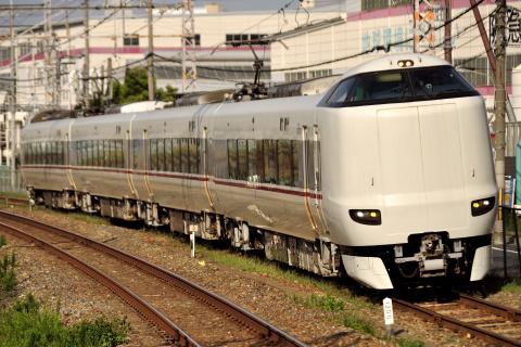 【JR西】287系フチFA05編成 吹田総合車両所本所内試運転