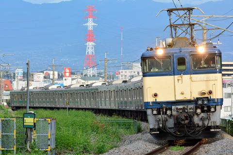 【JR東】205系ハエ10編成9両 長野へ配給