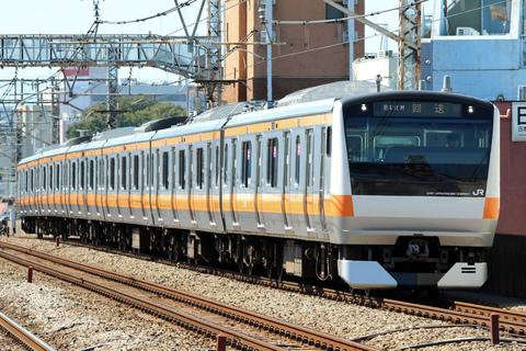 【JR東】E233系トタ青668編成 東京総合車両センター入場