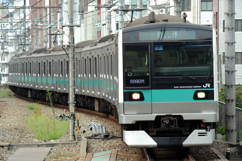 【JR東】E233系マト7編成 東京総合車両センター入場