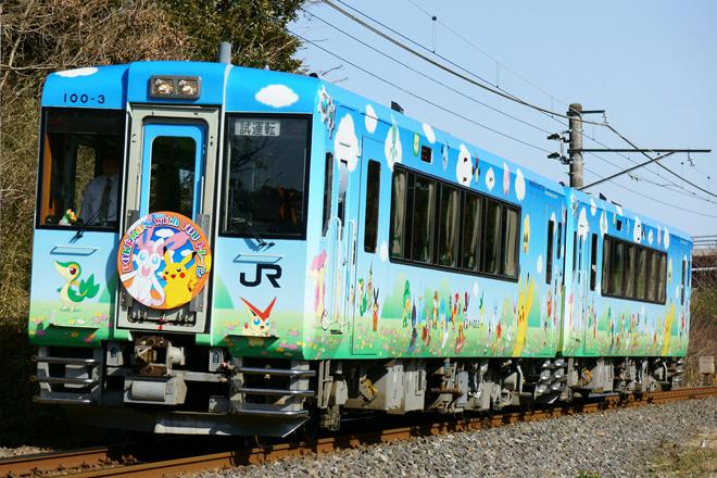 【JR東】「POKEMON with YOUトレイン」総武本線で試運転