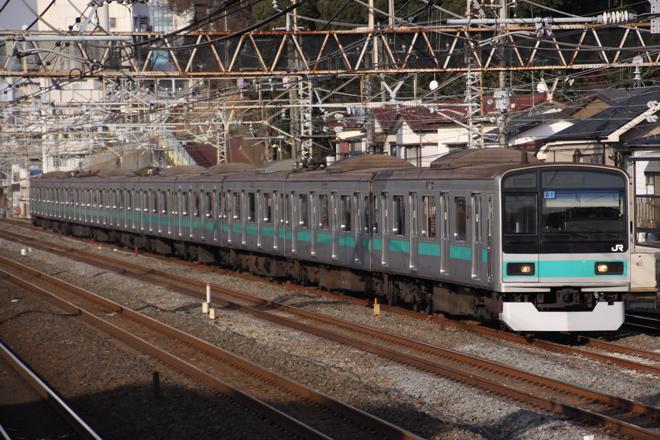 【JR東】209系1000番台マト81編成パンタ交換